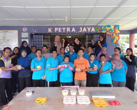 Candle Making at PDK Petra Jaya