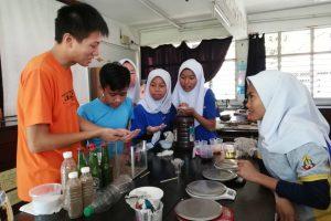 Soap Making at SMK Pending