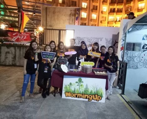 Sustainable Waste Management for Kuching Waterfront Jazz Festival 2017